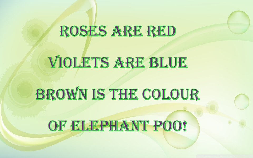 funny roses are red