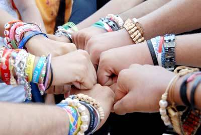 happy friendship day bracelets