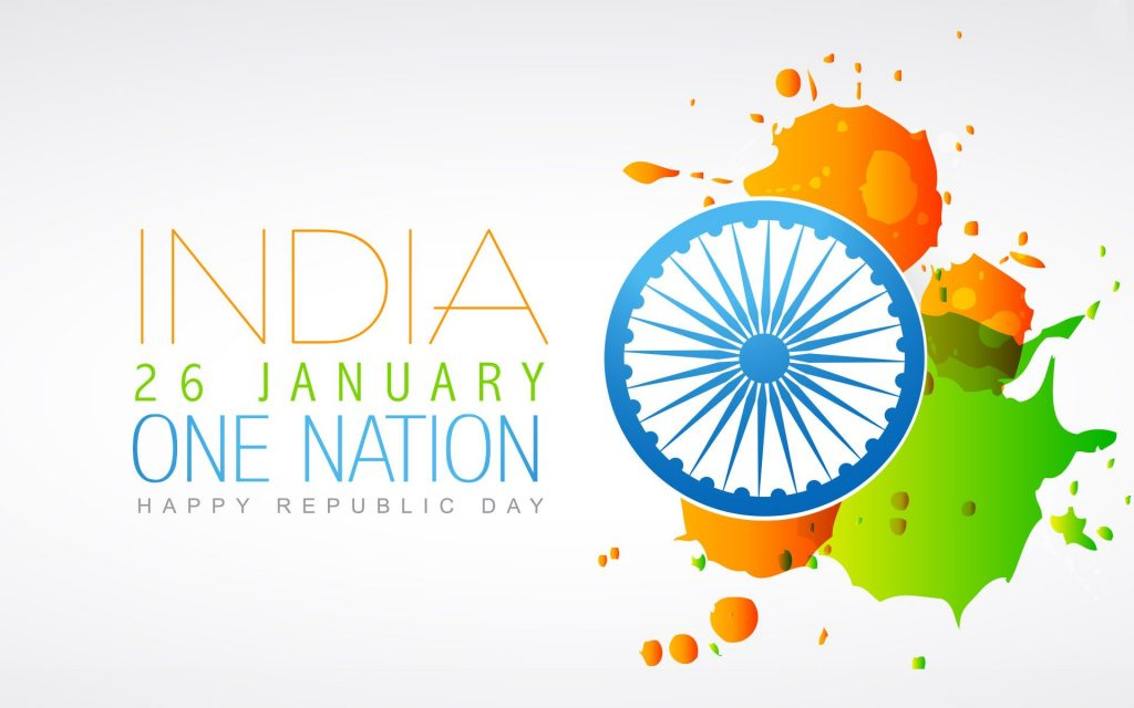 Wallpaper of Indian Republic Day-26 January Wishes Pictures